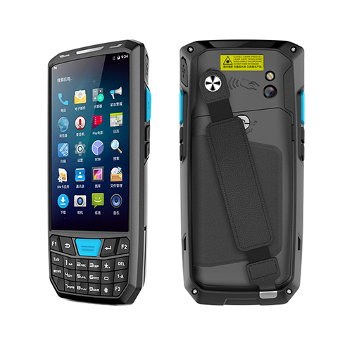 Factory Cheap Price Android 8.1 IP65 Rugged 4G WiFi Bluetooth GPS Camera 1D Barcode Scanner Handheld PDA